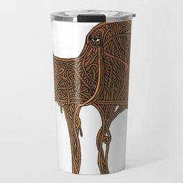 """""""Eye Lama"""" by Petter Bakken Travel Mug"""
