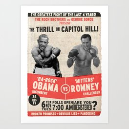 The Thrill on Capitol Hill (2) Art Print