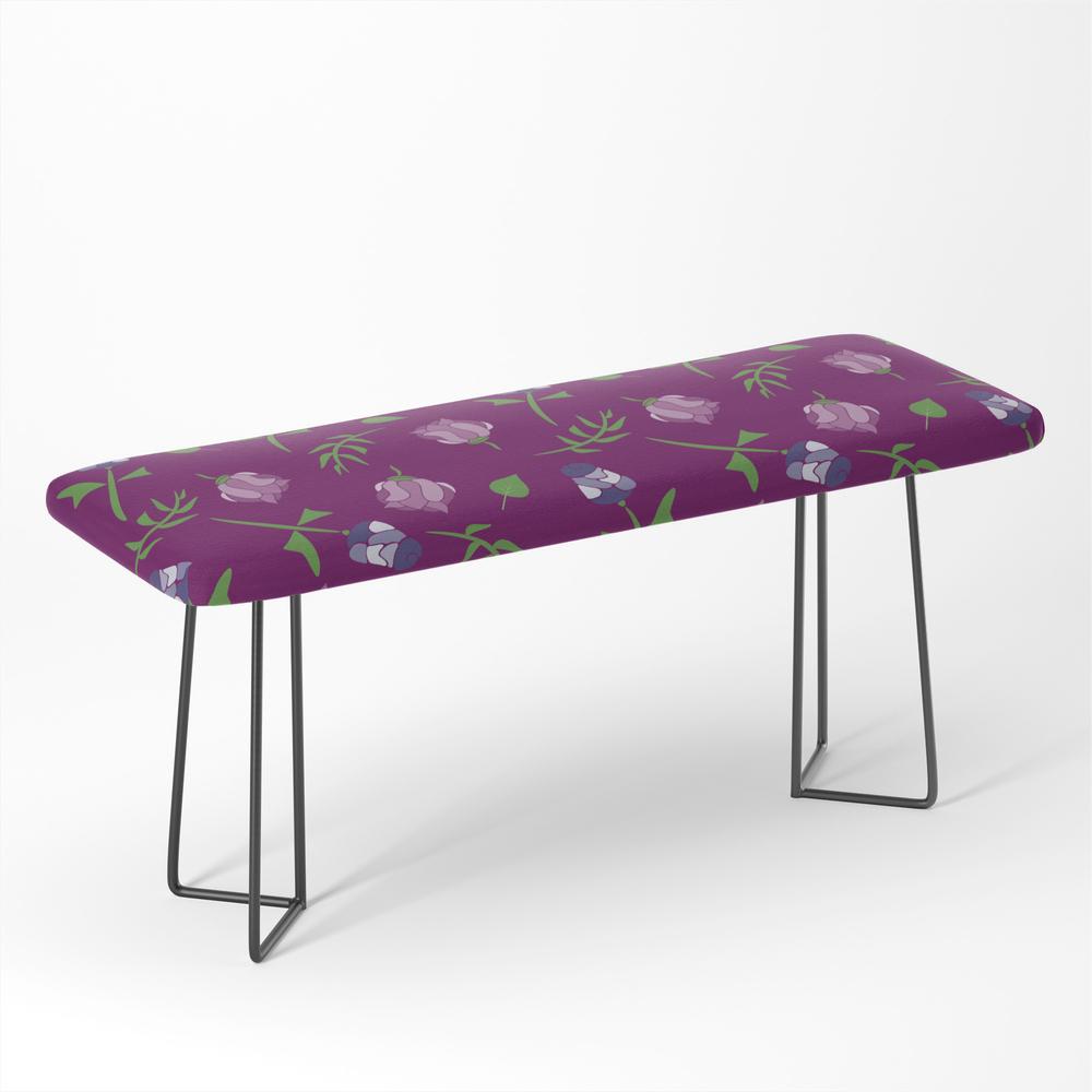 Pretty_Pink_Floral_Pattern_Bench_by_designsoutofmind