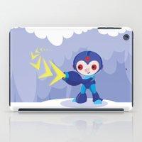 megaman iPad Cases featuring Megaman by Maria Jose Da Luz