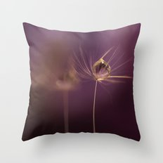 Your Dreams in a Drop ! Throw Pillow