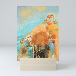Odilon Redon Exocation of Roussel 1912 Mini Art Print