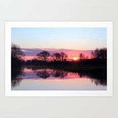 Sunrise Moment Art Print