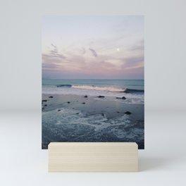 Santa Barbara, CA - Ocean Sunset Mini Art Print