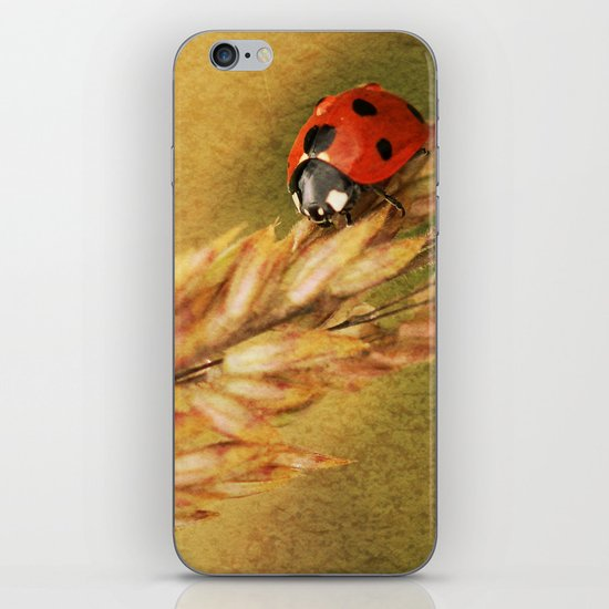 Lady on a Grass iPhone & iPod Skin
