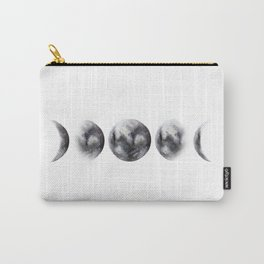 Moon phases watercolor painting Carry-All Pouch