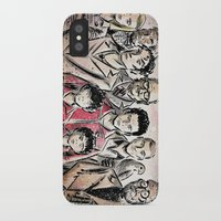 royal tenenbaums iPhone & iPod Cases featuring The Royal Tenenbaums by Joe Badon