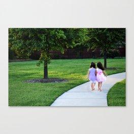 Sisters Canvas Print