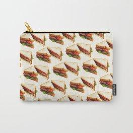 Sandwich Pattern BLT Carry-All Pouch