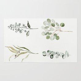 Eucalyptus Branches Rug