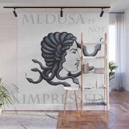 Medusa - Not Impressed Wall Mural