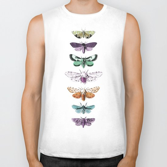 Techno-Moth Collection Biker Tank