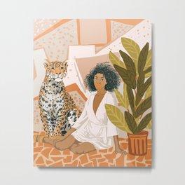 House Guest Metal Print