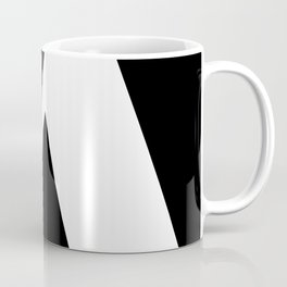 black and white pattern Coffee Mug