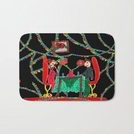 Christmas Dinner | Kids Painting Bath Mat