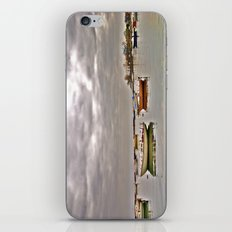 resting boats iPhone & iPod Skin