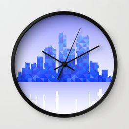 Urban Wall Clock