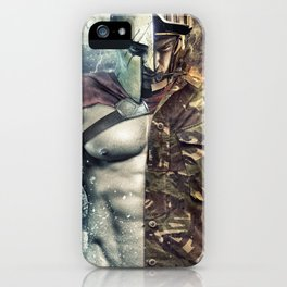 Spartan Warrior iPhone Case