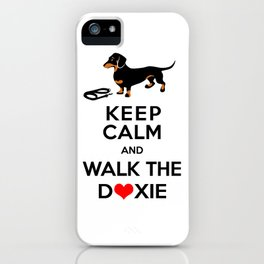 Walk the Doxie iPhone Case