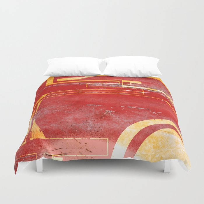 Shoot at the Red Duvet Cover