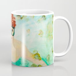 Free Diver boy Coffee Mug