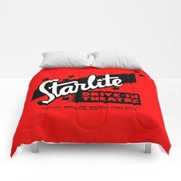 Starlite Drive In Red Comforters