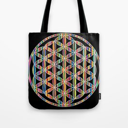 Flower of Life Colored | Kids Room | Delight Tote Bag
