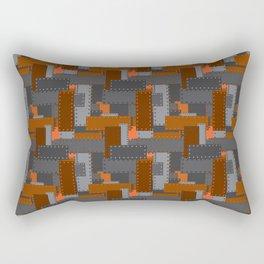 Steel Plates Rectangular Pillow