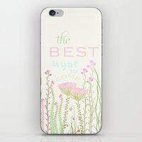 be happy iPhone & iPod Skins featuring HaPPy by Monika Strigel