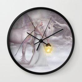 Fairy Light 15 Wall Clock