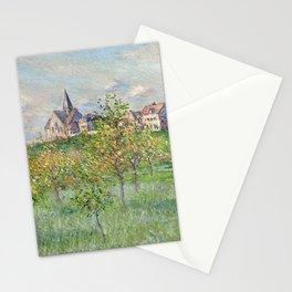 """Claude Monet """"Printemps à Giverny, effet d'après-midi"""" Stationery Cards"""