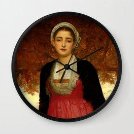 "Frederic Leighton ""Amarilla"" Wall Clock"