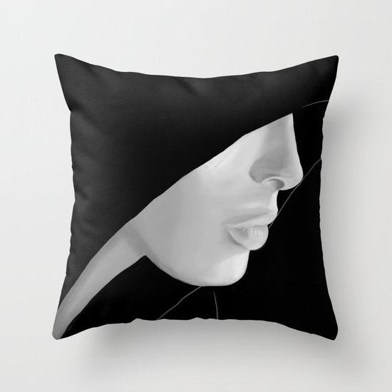 Veiled Throw Pillow