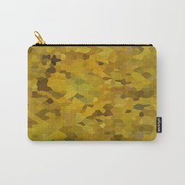 Mosaic Yellow Sunflower series 4 Carry-All Pouch