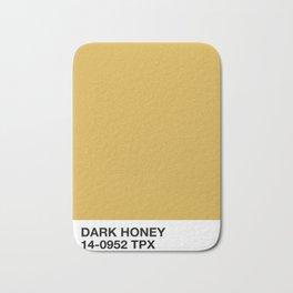 dark honey Bath Mat