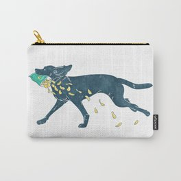 Labrador Retriever & Chips Carry-All Pouch