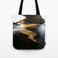 cave in the sea Tote Bag