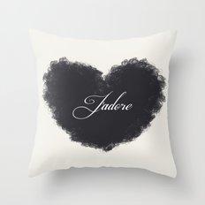 J'adore Throw Pillow
