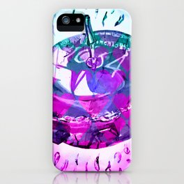 spin top iPhone Case