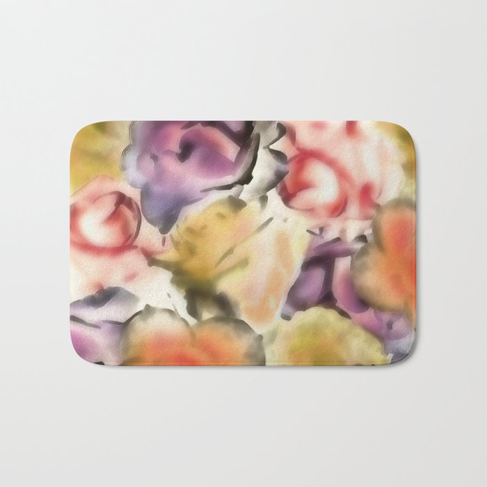 There are Roses without Thorns Bath Mat