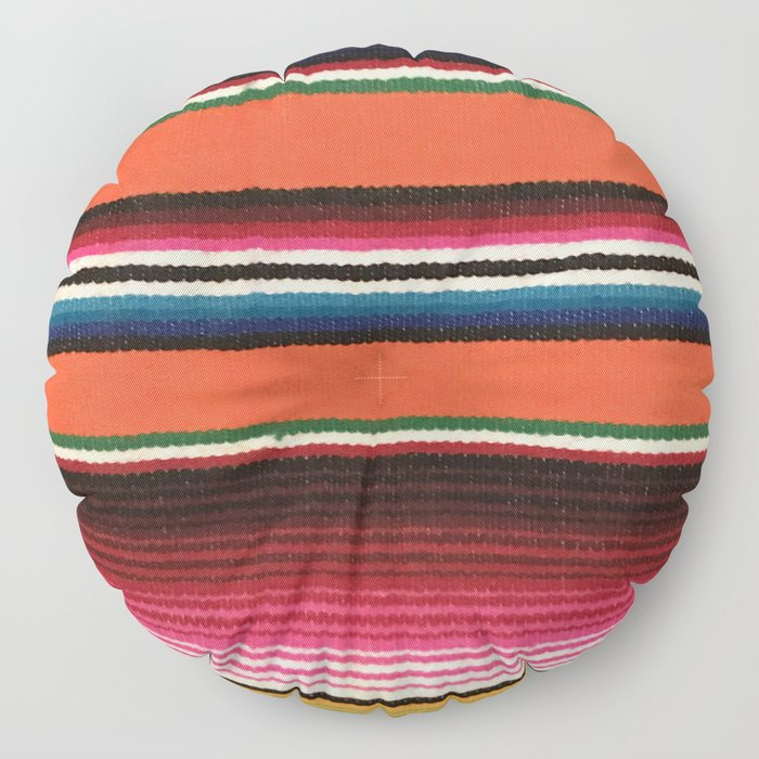 BEAUTIFUL MEXICAN SERAPE Floor Pillow