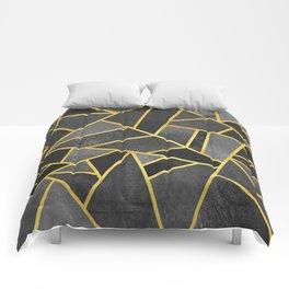 Grey Stone Comforters
