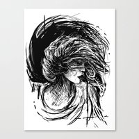 florence Canvas Prints featuring Florence by Kate Plourde