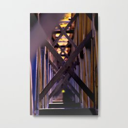 X-Marks the Spot Metal Print