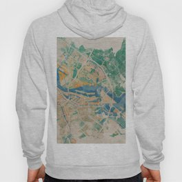 Amsterdam, the watercolor beauty Hoody