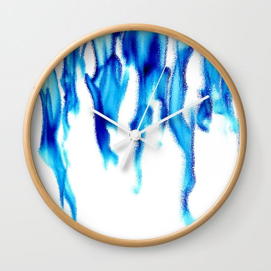Fire Water Wall Clock