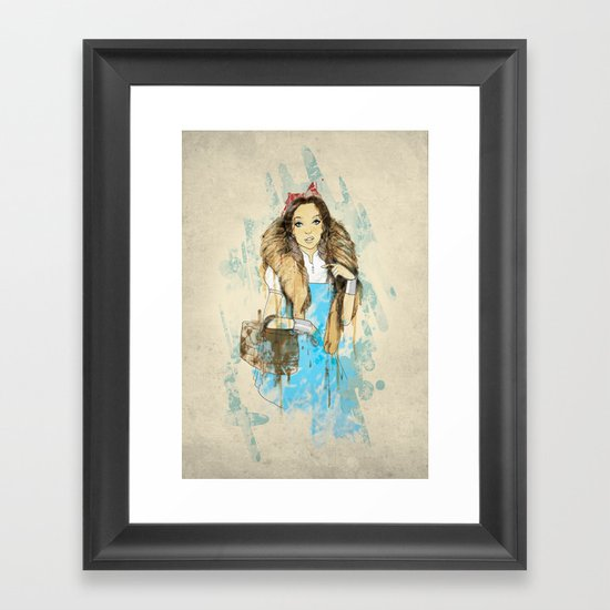 We Used To Be Friends Framed Art Print