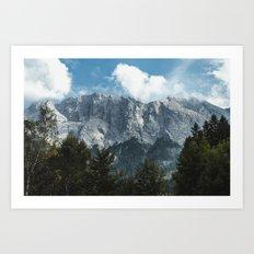 Waxenstein #2 Art Print