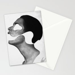 Empty puppet Stationery Cards