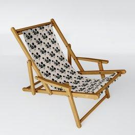 Michigan - State Papercut Print Sling Chair
